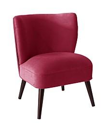 Logan Pleated Armless Chair