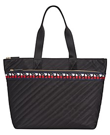 Penny Quilted Nylon Tote