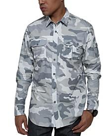 Men's Camo Dual Pocket Shirt