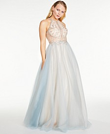 Juniors' Beaded Dream Ball Gown