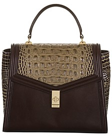 Coffee Norland Ingrid Satchel