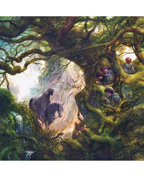 Springbok Puzzles Black Rider Lord of The Rings 500 Piece Jigsaw Puzzle