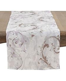 Baroque Strokes Table Runner