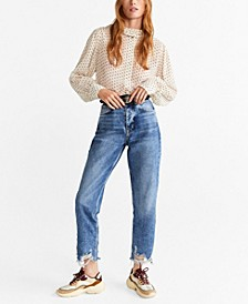 Ripped Relaxed Fit Jeans