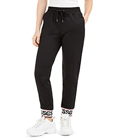 Nina Graphic-Hem Jogger Pants