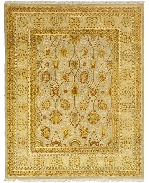 """Timeless Rug Designs CLOSEOUT! One of a Kind OOAK51 Flax 8'3"""" x 10'3"""" Area Rug"""