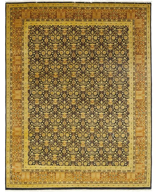 "Timeless Rug Designs CLOSEOUT! One of a Kind OOAK71 Brown 9'2"" x 11'10"" Area Rug"