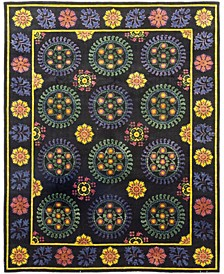 """CLOSEOUT! One of a Kind OOAK171 Yellow 9'1"""" x 11'6"""" Area Rug"""