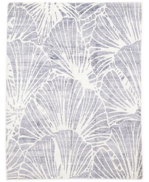 """Timeless Rug Designs CLOSEOUT! One of a Kind OOAK295 Gray 9'2"""" x 11'10"""" Area Rug"""