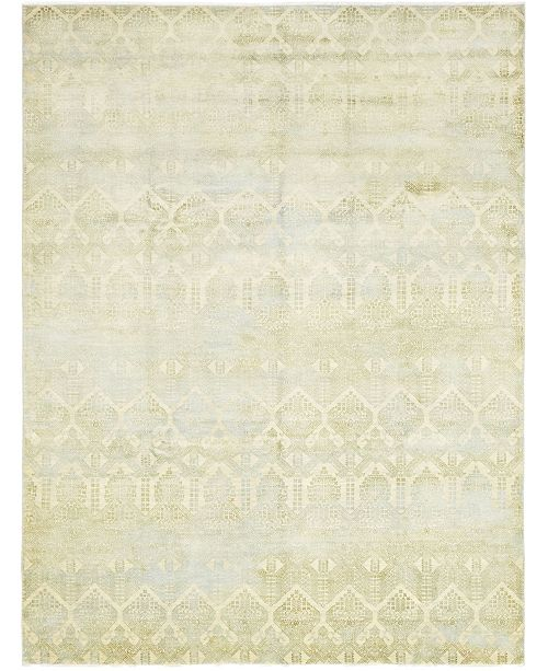 """Timeless Rug Designs CLOSEOUT! One of a Kind OOAK327 Beige 9'1"""" x 12'1"""" Area Rug"""