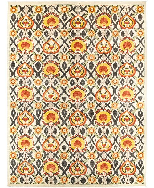 "Timeless Rug Designs CLOSEOUT! One of a Kind OOAK511 Yellow 14'1"" x 18'10"" Area Rug"