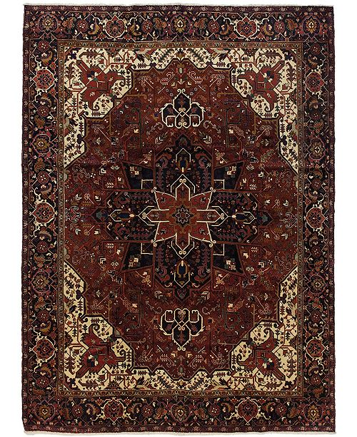 """Timeless Rug Designs CLOSEOUT! One of a Kind OOAK572 Cherry 9'9"""" x 13'2"""" Area Rug"""
