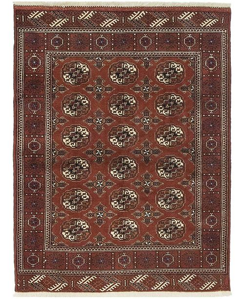"""Timeless Rug Designs One of a Kind OOAK582 Sienna 4' x 5'3"""" Area Rug"""
