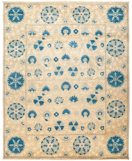 "Timeless Rug Designs CLOSEOUT! One of a Kind OOAK1269 Sapphire 8'3"" x 10'3"" Area Rug"
