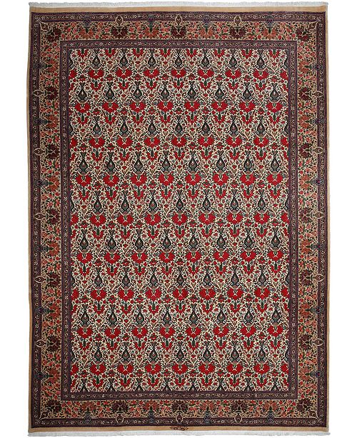 """Timeless Rug Designs CLOSEOUT! One of a Kind OOAK2700 Orange 8'2"""" x 11'3"""" Area Rug"""