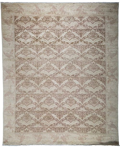 "Timeless Rug Designs CLOSEOUT! One of a Kind OOAK3853 Bone 7'10"" x 9'5"" Area Rug"