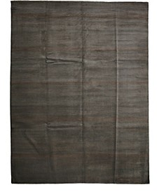 """CLOSEOUT! One of a Kind OOAK2665 Charcoal 8'10"""" x 11'10"""" Area Rug"""