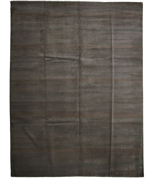 """Timeless Rug Designs CLOSEOUT! One of a Kind OOAK2665 Charcoal 8'10"""" x 11'10"""" Area Rug"""