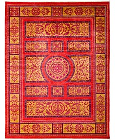 """CLOSEOUT! One of a Kind OOAK3138 Red 9' x 11'10"""" Area Rug"""