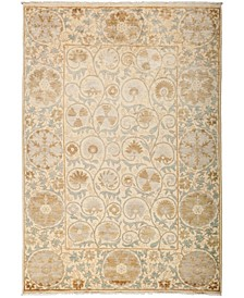 "CLOSEOUT! One of a Kind OOAK3213 Ivory 6'1"" x 8'8"" Area Rug"