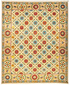 "CLOSEOUT! One of a Kind OOAK3038 Cream 8'3"" x 10' Area Rug"