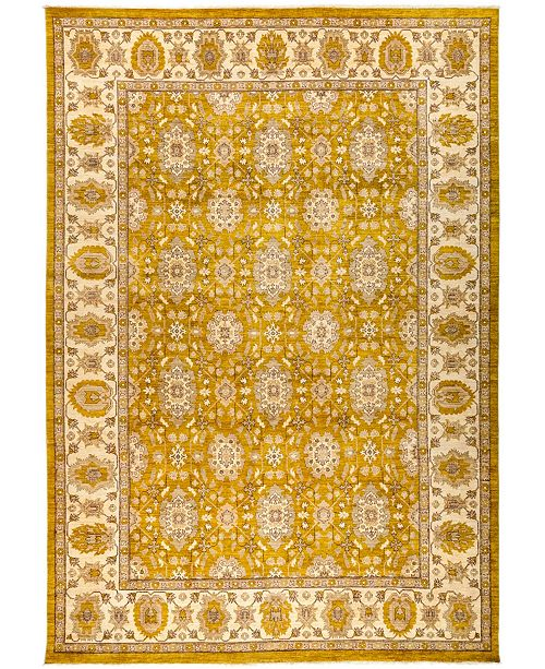 """Timeless Rug Designs CLOSEOUT! One of a Kind OOAK3014 Orange 10'3"""" x 14'9"""" Area Rug"""