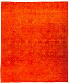 """CLOSEOUT! One of a Kind OOAK2954 Red 9' x 10'9"""" Area Rug"""