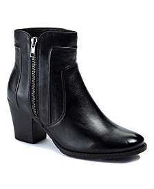 Sole Bound by Lisette Leather Ankle Boots