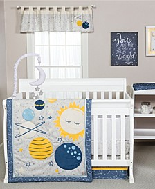 Galaxy 3-Piece Crib Bedding Set