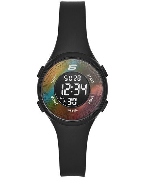 Skechers Ladies' Ruthelen Digital Plastic Strap Watch 32mm