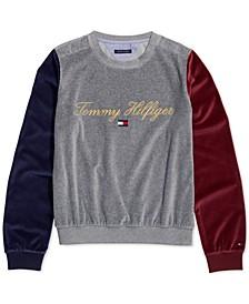 Women's Sweatshirt With VELCRO®-Closure Shoulders