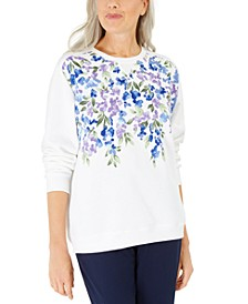 Printed Fleece Top, Created for Macy's