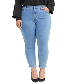 Trendy Plus Size 721 High-Rise Skinny Ankle Jeans