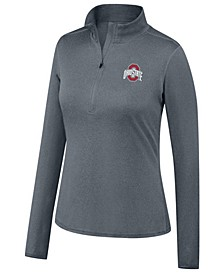 Women's Ohio State Buckeyes Motion Quarter-Zip Pullover