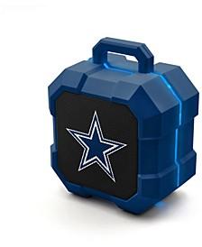 Prime Brands Dallas Cowboys Shockbox LED Speaker