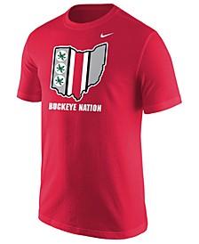 Men's Ohio State Buckeyes Official Fan T-Shirt