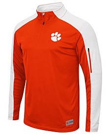 Men's Clemson Tigers Promo Quarter-Zip Pullover