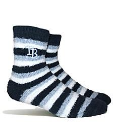 Tampa Bay Rays Fuzzy Steps Socks