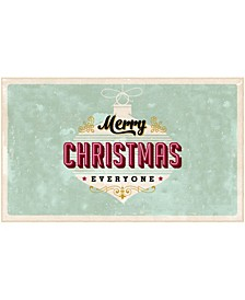 "Everyone Christmas Accent Rug, 18"" x 30"""