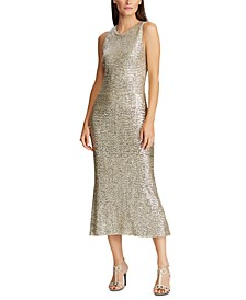 Sequined Holiday Dress