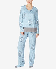 Long Sleeve Pajama Set With Socks, Online Only