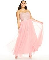 Plus Size Prom Dresses 2020 - Macy\'s