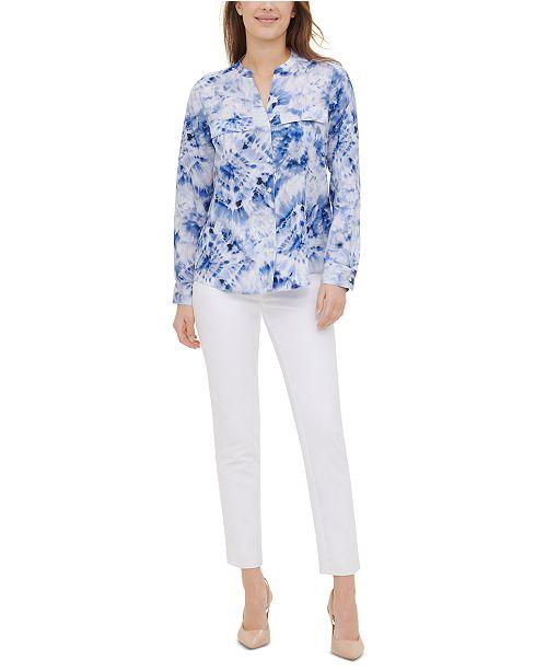 Calvin Klein Tie-Dyed Shirt
