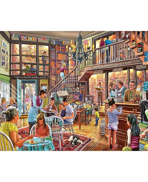 White Mountain Puzzles Local Book Store - 1000 Piece Jigsaw Puzzle