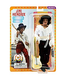 "Mego Action Figure 8"" Jimi Hendrix, Miami Pop Limited Edition Collector's Item"