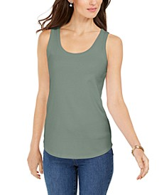 Supima® Cotton Scoop-Neck Tank Top, Created for Macy's