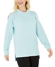 Cold-Shoulder Vented Top, Created for Macy's
