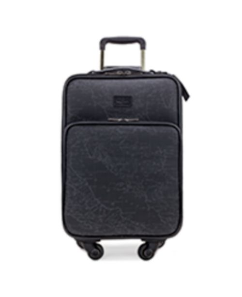 """Patricia Nash Coated Linen Canvas Vettore 18"""" Trolley"""