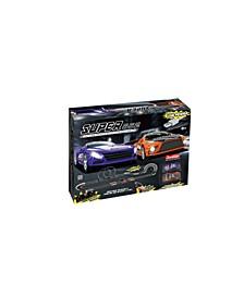 Superior 552 1:43 Scale USB Power Slot Car Racing Set