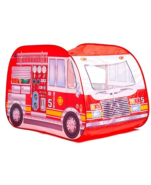 Pop-it-Up Fun2Give Fire Station Truck Play Tent
